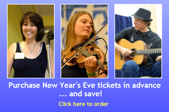 Purchase New Year's Eve tickets in advance...and save! Click here to order